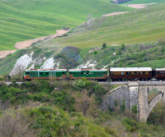 Tuscany's Nature train