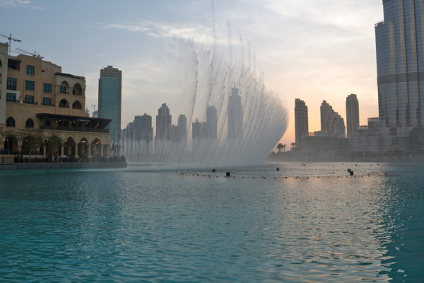 Fountain in Dubai