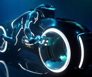 Lightcycle Tron Legacy