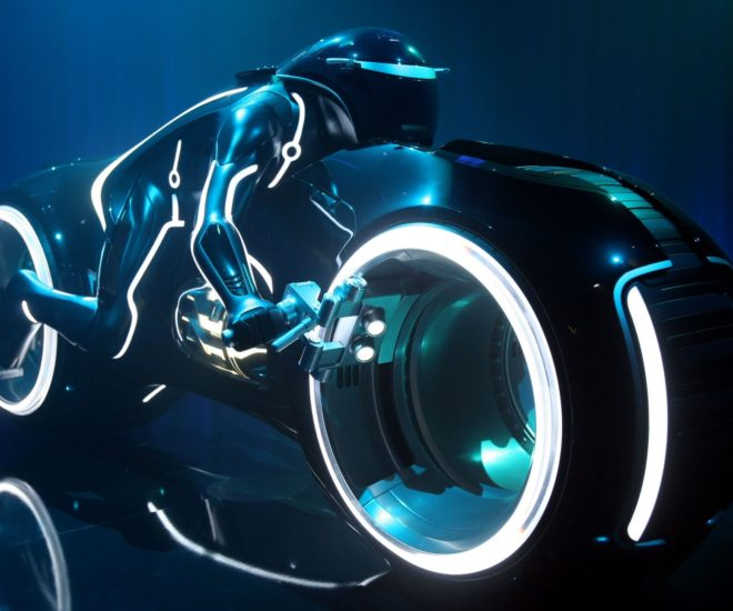 Lightcycle Tron Legacy