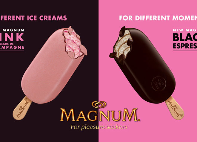 Magnum Pink and Black