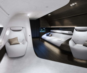 Mercedes-Benz Style Lufthansa Technik VIP cabin