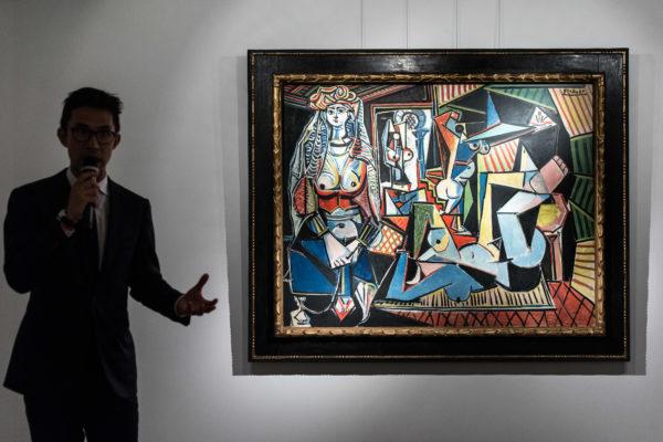 "Picasso painting titled ""Les Femmes d'Algers"