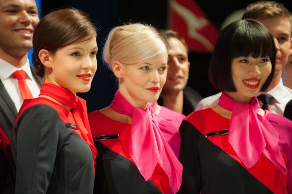 Qantas uniforms by Martin Grant