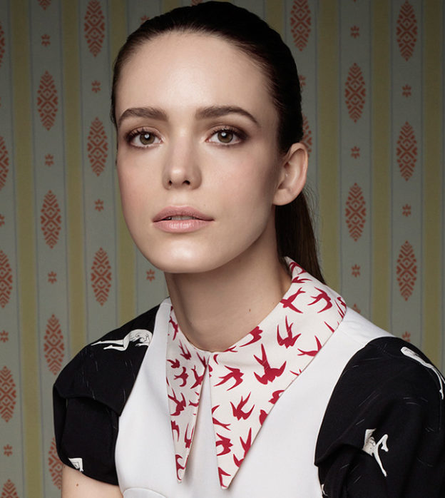 55031907c75 Stacy Martin signed for Miu Miu fragrance campaign