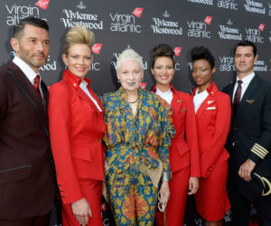 Virgin Atlantic's Vivienne Westwood uniforms