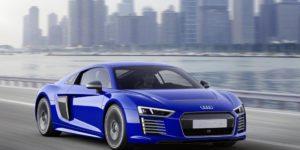 Audi R8 e-tron in self-driving CES Asia debut