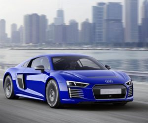 all-electric R8 e-tron supercar