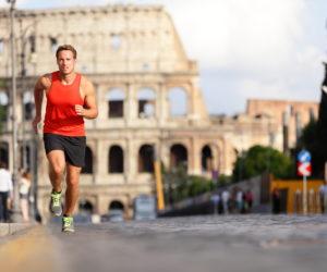 jogging tour of Rome