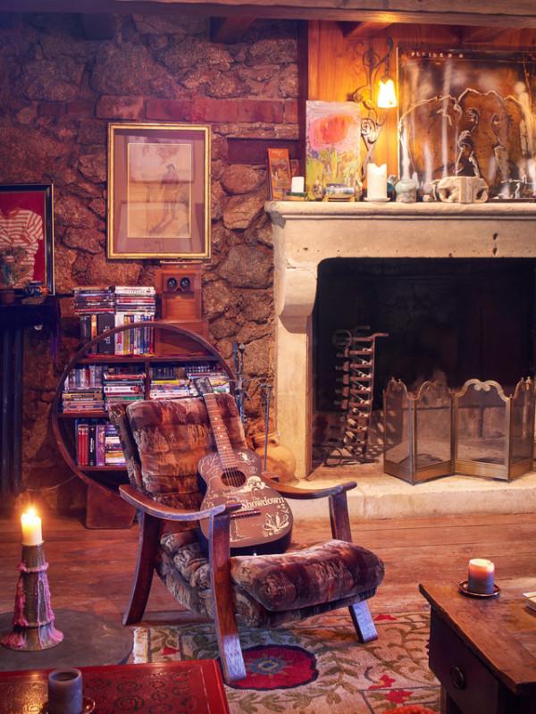 Johnny Depp luxury home