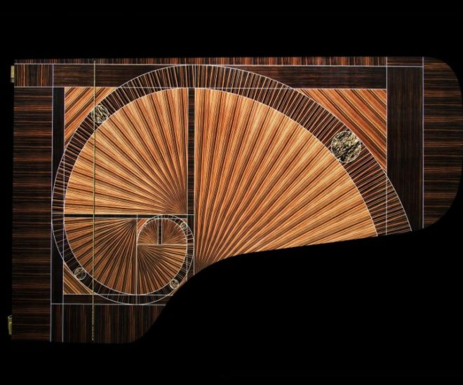 The Fibonacci piano
