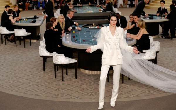 Chanel Couture casino Kendall Jenner