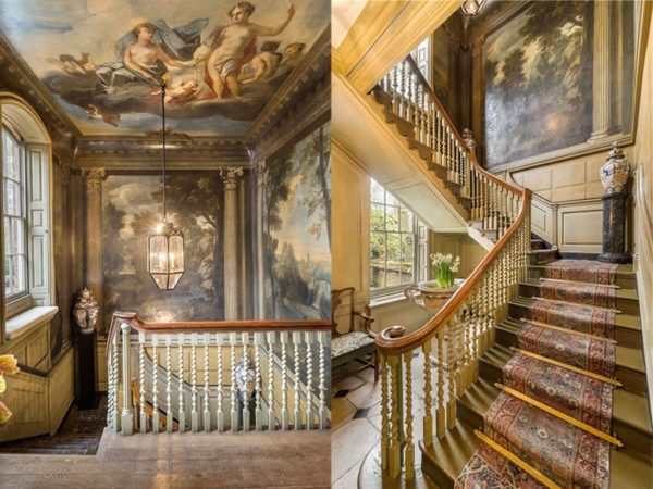 Michael Bloomberg London Mansion stairs