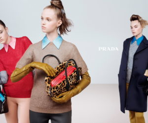 Prada FW 2015 ad campaign