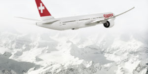 Swiss Air takes luxury to new heights
