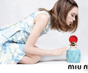 miu miu fragrance campaign stacy martin