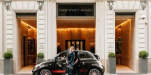 Milan's Park Hyatt partnering with Abarth for car offer