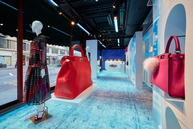 Fendi pop-up boutique London