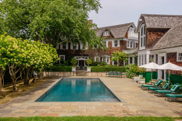 Hamptons Home pool