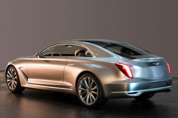 Hyundai Vision G Concept Coupe back