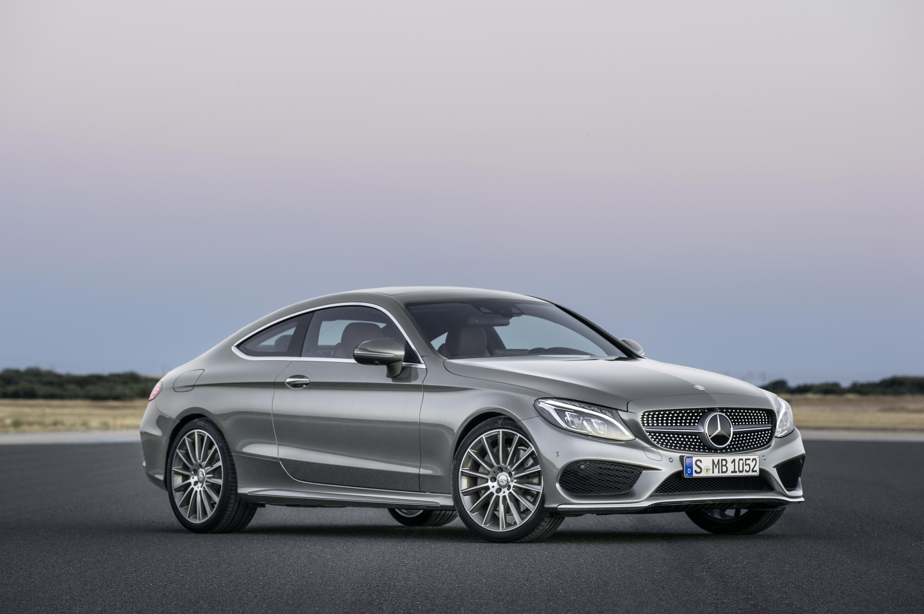 Mercedes Benz C Class Coupe Revealed