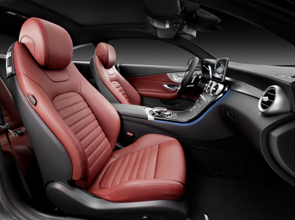 Mercedes-Benz C-Class Coupe interior