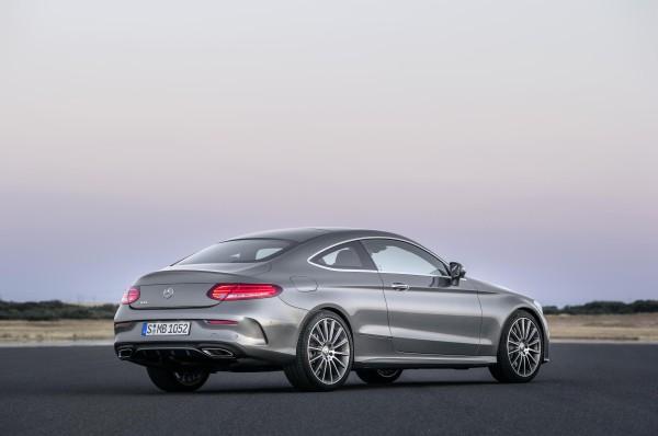 Mercedes-Benz C-Class Coupe rear view
