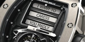 Richard Mille delves into eroticism with its new watch