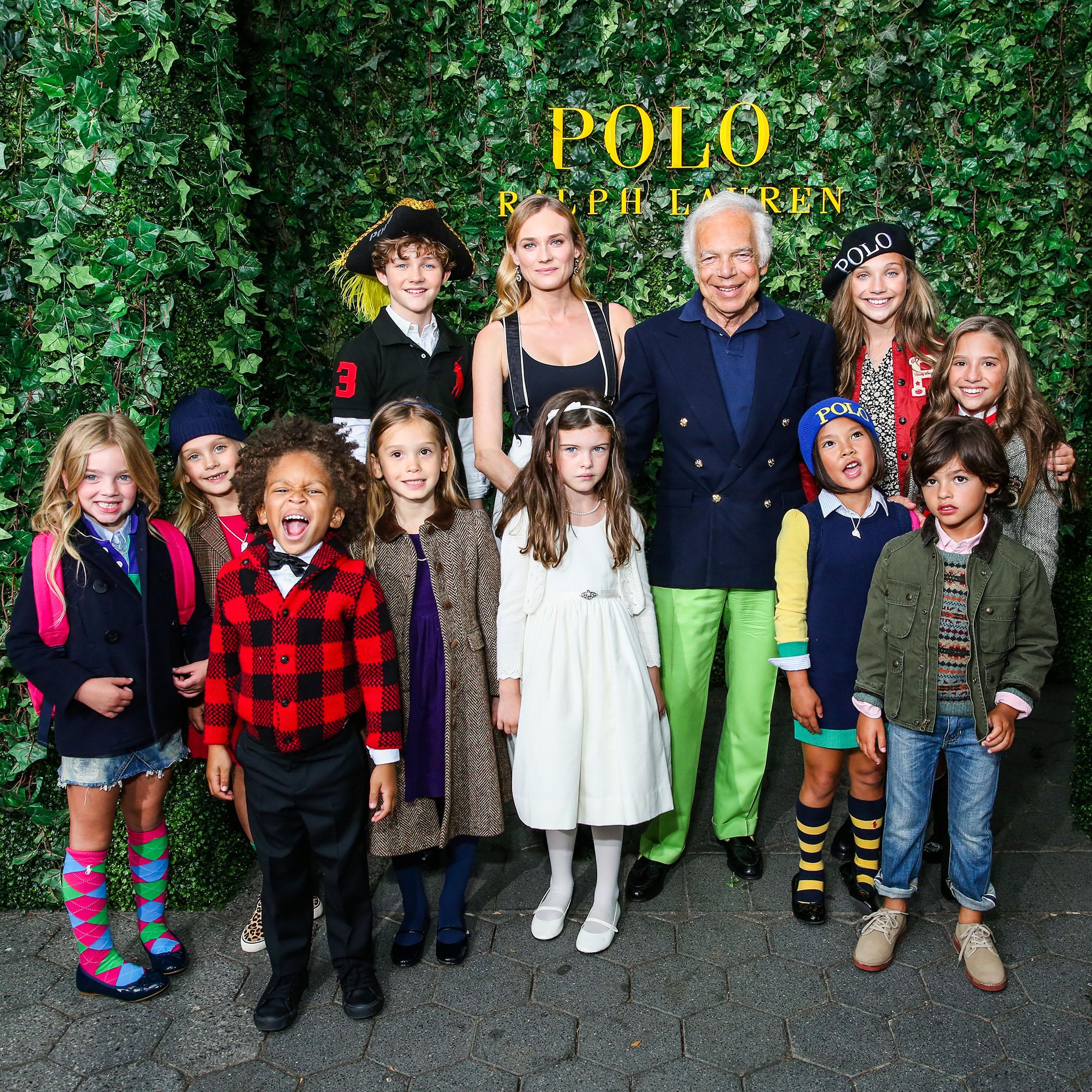 9facd6f4e POLO RALPH LAUREN Children's Fashion Show