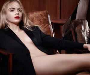 Rogue pur Couture lipstick ad campaign