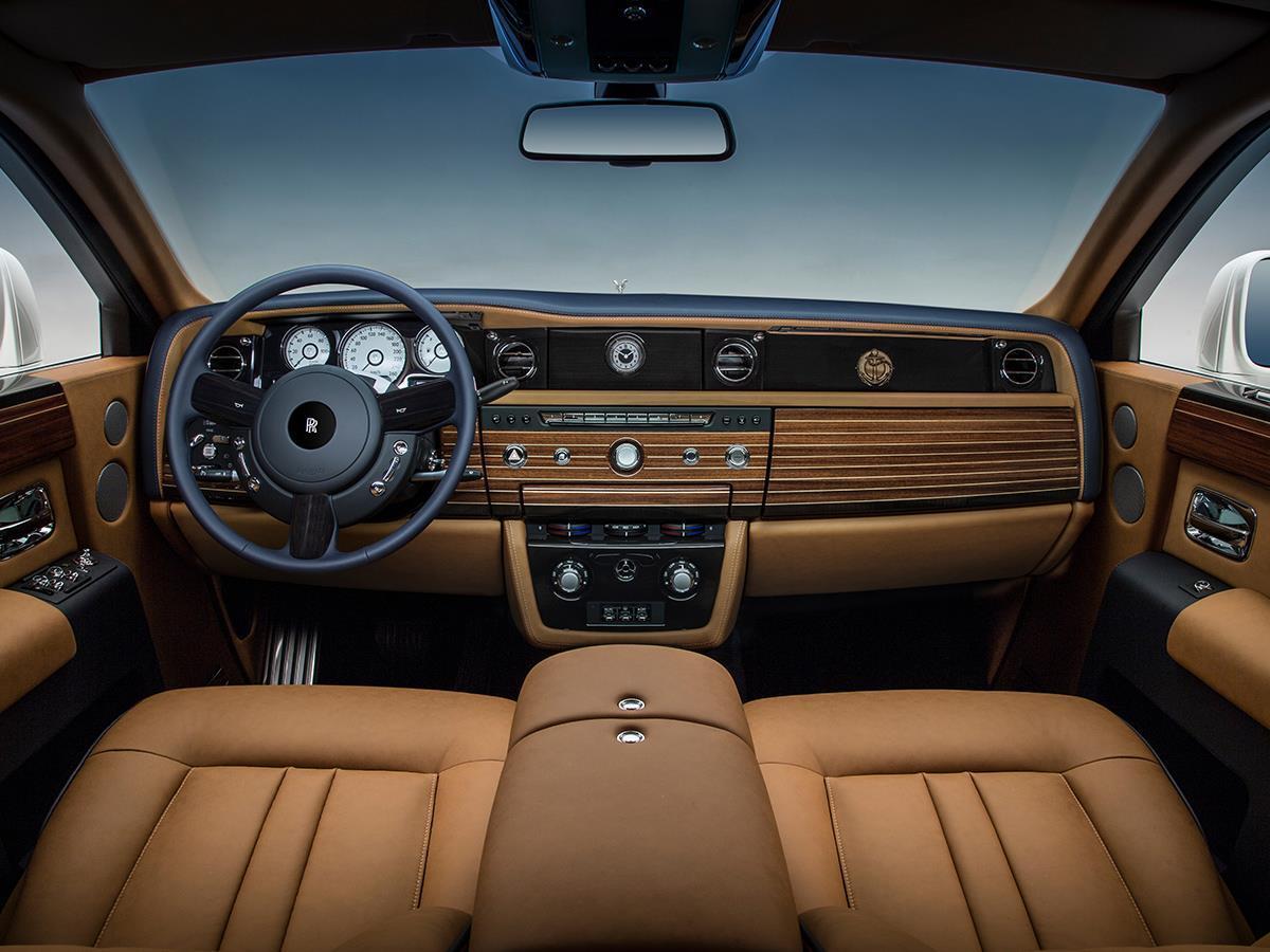 Rolls Royce Phantom Nautica Interior