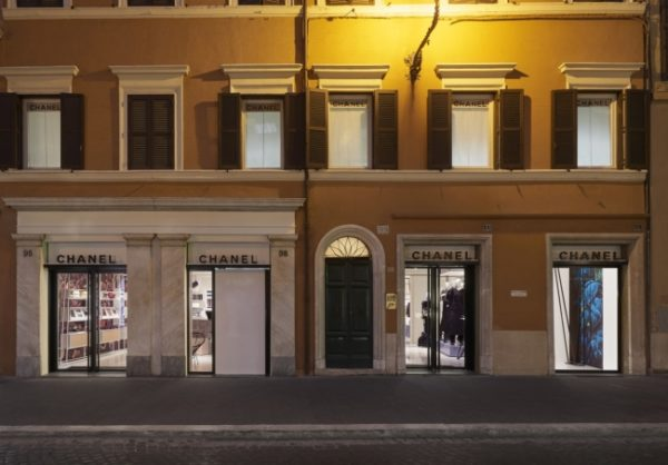 Chanel pop-up Rome