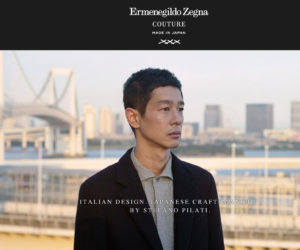 Ermenegildo Zegna Couture Made in Japan