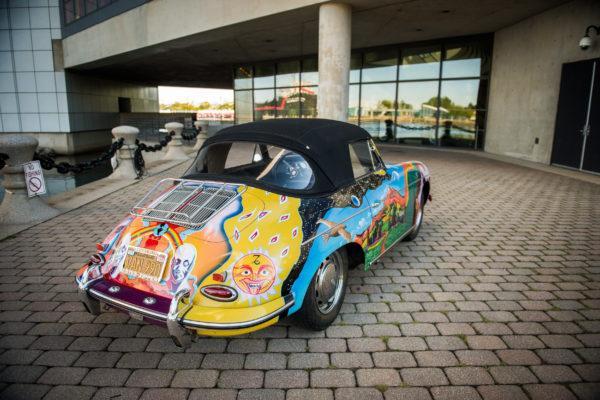 Janis Joplin Porsche auction