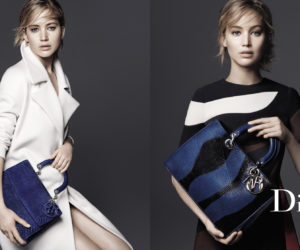 Jennifer Lawrence Be Dior Diorissimo