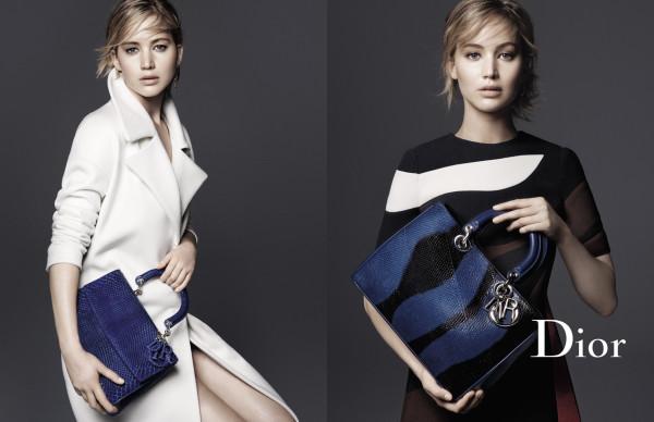 Jennifer Lawrence Be Dior Diorissimo
