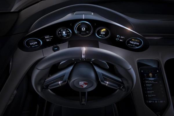 Porsche Mission E Concept dashboard