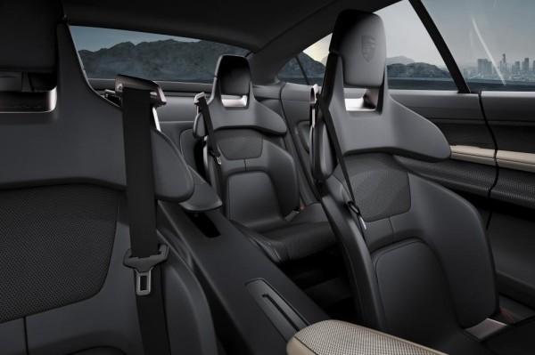 Porsche Mission E Concept seats