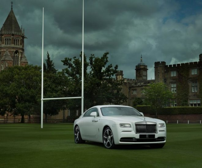 Rolls-Royce Unveils Rugby-themed Bespoke Model