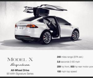 Tesla Model X Signature