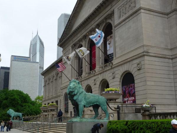 The Art Institute of Chicago Exterior