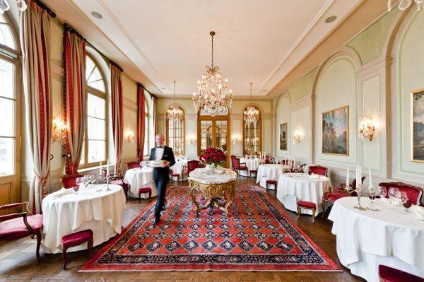 Cheval Blanc restaurant Basel