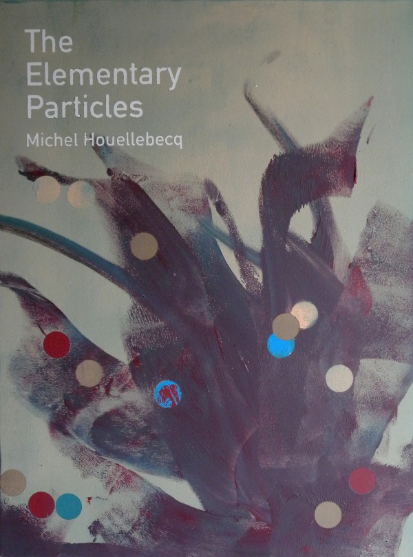 Heman CHONG, The Elementary Particles  Michel Houellebecq, 2013, Acrylic on canvas, 61 x 46 x 3.5 cm