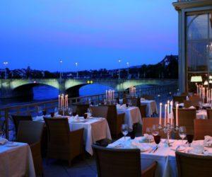 Le Cheval Blanc restaurant Basel