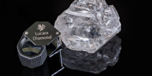 World's second largest diamond found in Africa