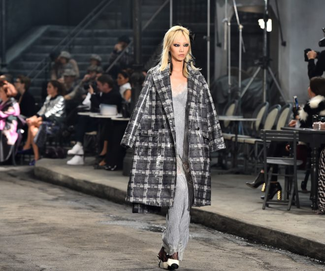 cec31a27a8 French luxury giant Chanel brought the drama to Rome December 1