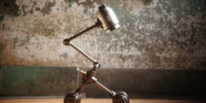 Symbol Desk Lamp by Edison-industry