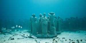 Sculptor Discusses Underwater Museum in TED video