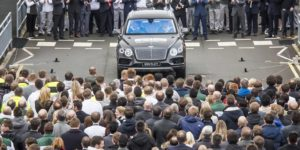 First production Bentley Bentayga Debuts