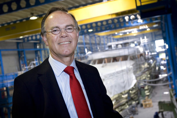 Dick van Lent, CEO of Van Lent shipyard